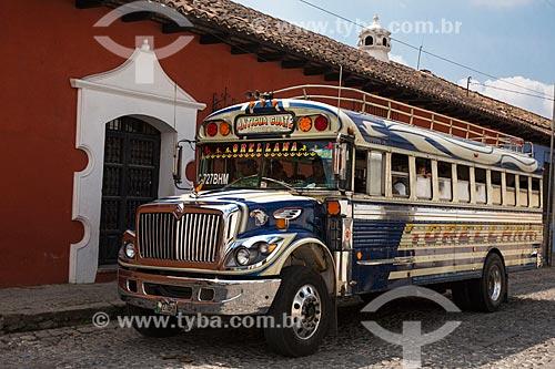 Transporte coletivo na Guatemala  - República de Guatemala