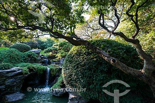 Jardim japonês no Prospect Park  - Cidade de Nova Iorque - Nova Iorque - Estados Unidos