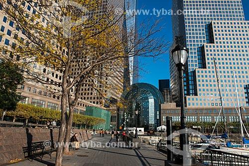 Brookfield Place no Battery Park  - Cidade de Nova Iorque - Nova Iorque - Estados Unidos