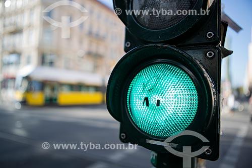 Detalhe de semáforo  - Berlim - Berlim - Alemanha