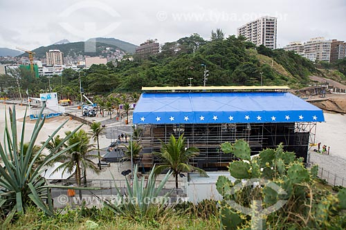 Circo Voador - remontagem no mesmo local do verão de 1982 em homenagem aos trinta anos de carreira de Cazuza  - Rio de Janeiro - Rio de Janeiro (RJ) - Brasil