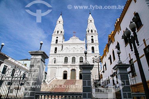 Fachada da Igreja de Nossa Senhora das Dores (1901)  - Porto Alegre - Rio Grande do Sul (RS) - Brasil