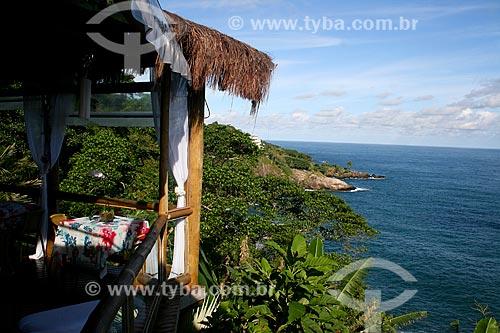 Orla de Borrifos na Ilhabela  - Ilhabela - São Paulo (SP) - Brasil