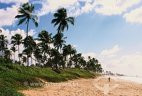 Orla da Praia de Arembepe  - Camaçari - Bahia (BA) - Brasil