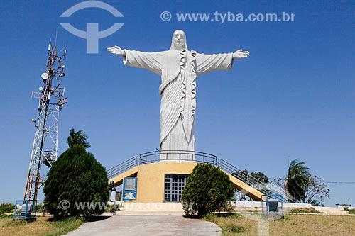 Cristo Rei do Pantanal (2004)  - Corumbá - Mato Grosso do Sul (MS) - Brasil