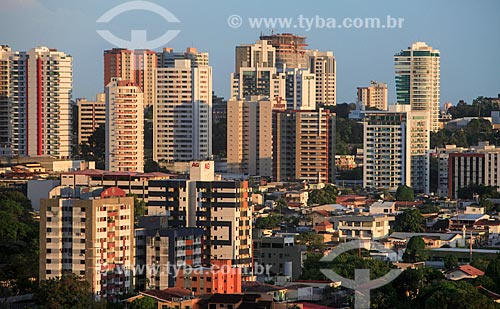 Vista do conjunto residencial Vieiralves  - Manaus - Amazonas (AM) - Brasil
