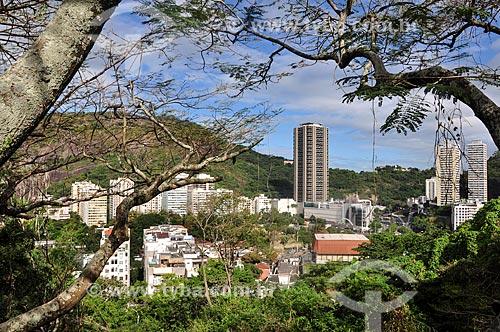 Vista da Torre do Rio Sul a partir do Mirante do Pasmado  - Rio de Janeiro - Rio de Janeiro (RJ) - Brasil