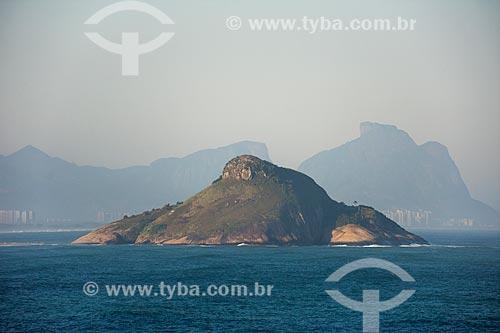 Vista da Pedra do Pontal com a Pedra da Gávea ao fundo  - Rio de Janeiro - Rio de Janeiro (RJ) - Brasil
