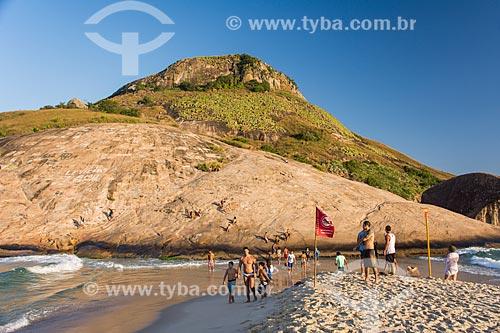 Vista da Pedra do Pontal a partir da Praia da Macumba  - Rio de Janeiro - Rio de Janeiro (RJ) - Brasil