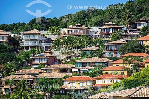 Casas próximas à Praia de João Fernandes  - Armação dos Búzios - Rio de Janeiro (RJ) - Brasil