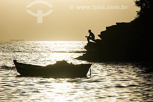 Pôr do sol na Praia de João Fernandinho  - Armação dos Búzios - Rio de Janeiro (RJ) - Brasil
