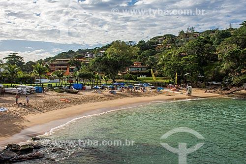 Vista da orla da Praia da Ferradurinha  - Armação dos Búzios - Rio de Janeiro (RJ) - Brasil