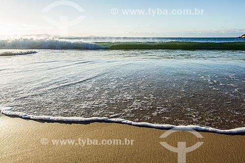 Orla da Praia da Lagoinha  - Florianópolis - Santa Catarina (SC) - Brasil