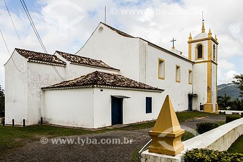 Fachada posterior da Igreja de Nossa Senhora da Imaculada Conceição  - Florianópolis - Santa Catarina (SC) - Brasil