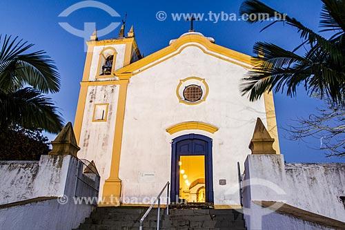 Fachada da Igreja de Nossa Senhora da Imaculada Conceição  - Florianópolis - Santa Catarina (SC) - Brasil