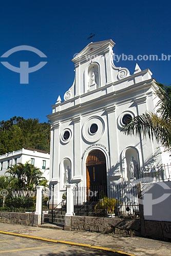 Fachada da Igreja da Imaculada Conceição  - Petrópolis - Rio de Janeiro (RJ) - Brasil