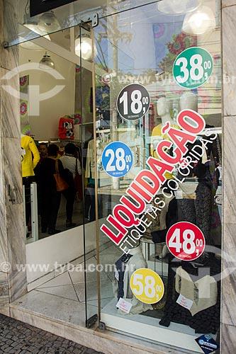 Vitrine de loja na Rua Teresa  - Petrópolis - Rio de Janeiro (RJ) - Brasil