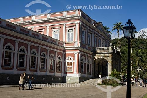 Fachada do Museu Imperial de Petrópolis  - Petrópolis - Rio de Janeiro (RJ) - Brasil