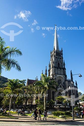 Fachada da Catedral de São Pedro de Alcântara (1846)  - Petrópolis - Rio de Janeiro (RJ) - Brasil
