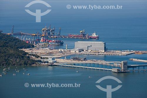 LLX Porto Sudeste - empreendimento da MMX, Grupo EBX do empresário Eike Batista  - Itaguaí - Rio de Janeiro (RJ) - Brasil