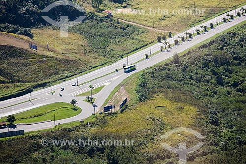 Foto aérea da Avenida Brasil próximo à Campo Grande  - Rio de Janeiro - Rio de Janeiro (RJ) - Brasil