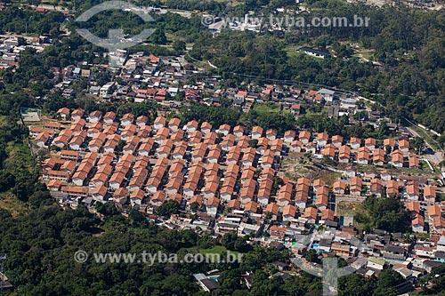 Foto aérea de conjunto habitacional em Campo Grande  - Rio de Janeiro - Rio de Janeiro (RJ) - Brasil