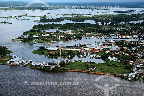 Foto aérea da cidade de Parintins  - Parintins - Amazonas (AM) - Brasil
