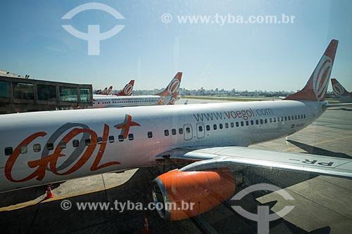 Aviões no Aeroporto de Congonhas  - São Paulo - São Paulo (SP) - Brasil