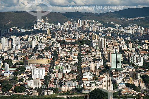 Foto aérea do bairro Nova Suiça  - Belo Horizonte - Minas Gerais (MG) - Brasil