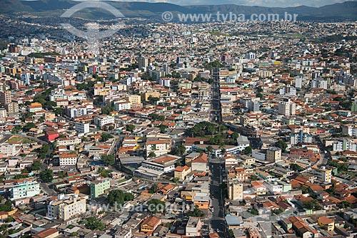 Foto aérea do bairro planejado Nova Eldorado  - Contagem - Minas Gerais (MG) - Brasil