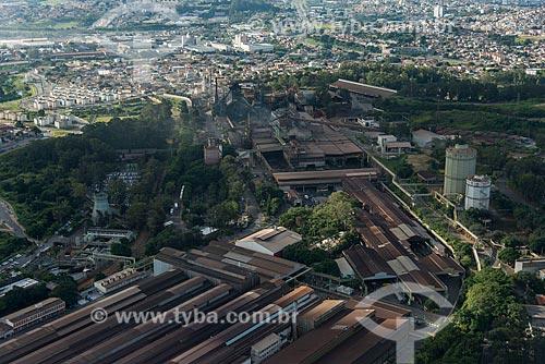 Foto aérea da Usina Barreiro da Vallourec Tubos do Brasil  - Belo Horizonte - Minas Gerais (MG) - Brasil