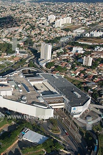 Foto aérea da Estação Vilarinho do Metrô de Belo Horizonte  - Belo Horizonte - Minas Gerais (MG) - Brasil