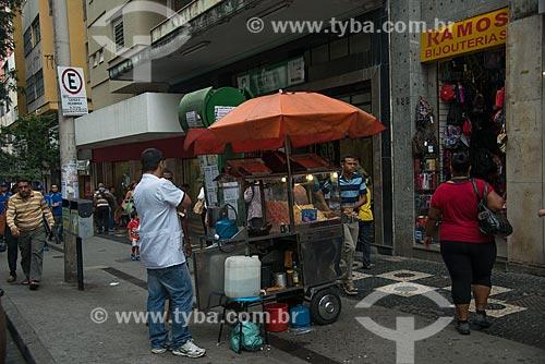 Pipoqueiro no centro de Belo Horizonte  - Belo Horizonte - Minas Gerais (MG) - Brasil
