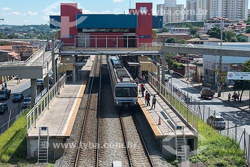 Estação Floramar do Metrô de Belo Horizonte  - Belo Horizonte - Minas Gerais (MG) - Brasil