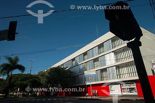 Fachada da Casa FIAT de Cultura - antigo Palácio dos Despachos e integrante do Circuito Cultural Praça da Liberdade  - Belo Horizonte - Minas Gerais (MG) - Brasil