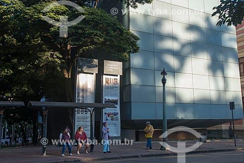 Fachada do Espaço do conhecimento UFMG - integra o Circuito Cultural Praça da Liberdade  - Belo Horizonte - Minas Gerais (MG) - Brasil