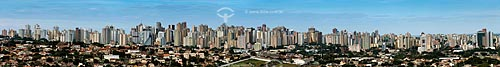 Vista geral da zona oeste da cidade de Londrina  - Londrina - Paraná (PR) - Brasil