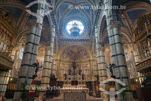 Altar da Duomo di Siena (Catedral de Siena) - 1263  - Siena - Província de Siena - Itália