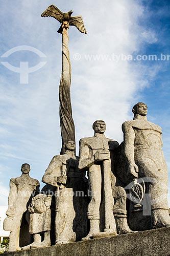 Memorial da Colonização Açoriana (2000) - erguido em homenagem aos 250 anos da cidade de São José  - São José - Santa Catarina (SC) - Brasil
