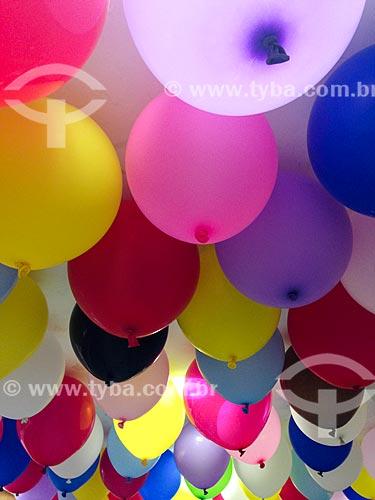 Balões coloridos  - Rio de Janeiro - Rio de Janeiro (RJ) - Brasil