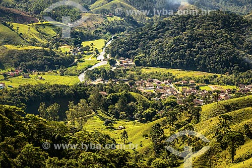 Vista geral do distrito de Visconde de Mauá  - Resende - Rio de Janeiro (RJ) - Brasil