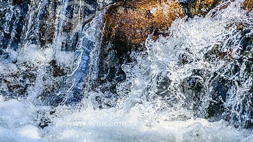 Detalhe de cachoeira no Vale do Alcantilado  - Bocaina de Minas - Minas Gerais (MG) - Brasil