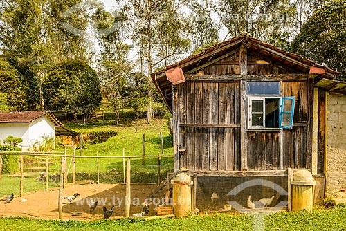 Galinheiro do Sítio da Pedra Grande  - Bocaina de Minas - Minas Gerais (MG) - Brasil