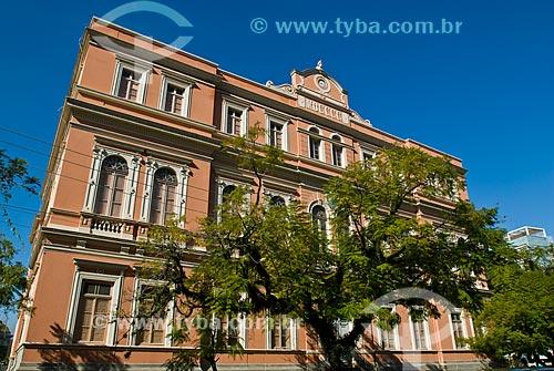 Fachada do antigo prédio da Faculdade de Engenharia da Universidade Federal do Rio Grande do Sul - Campus Centro  - Porto Alegre - Rio Grande do Sul (RS) - Brasil