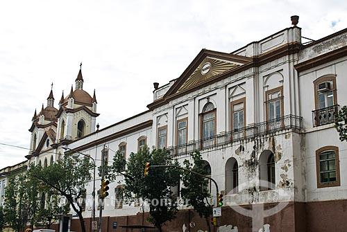 Fachada da Santa Casa de Misericórdia de Porto Alegre  - Porto Alegre - Rio Grande do Sul (RS) - Brasil