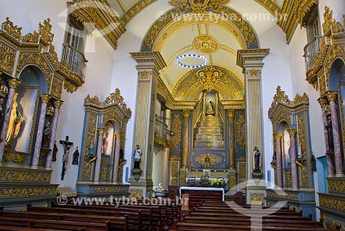 Interior da Igreja de Nossa Senhora da Conceição (1889)  - Porto Alegre - Rio Grande do Sul (RS) - Brasil