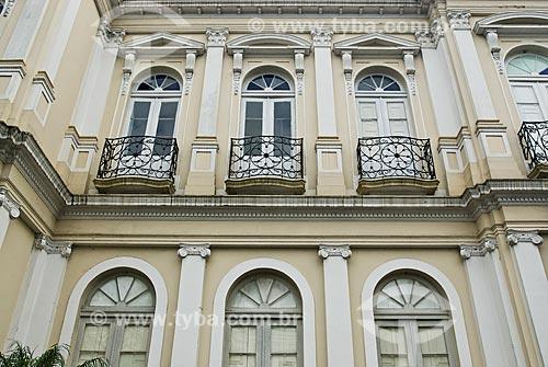 Fachada do prédio do Hospital da Beneficência Portuguesa de Porto Alegre e do Museu da História da Medicina (1870)  - Porto Alegre - Rio Grande do Sul (RS) - Brasil