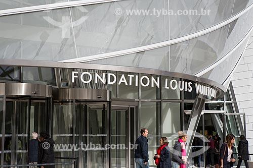 Fachada da Fundação Louis Vuitton (2014)  - Paris - Paris - França