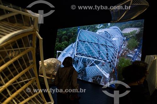 Exposição na Fundação Louis Vuitton  - Paris - Paris - França