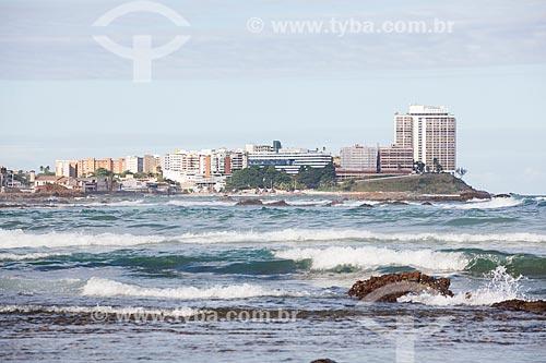 Vista da orla da Praia de Ondina  - Salvador - Bahia (BA) - Brasil